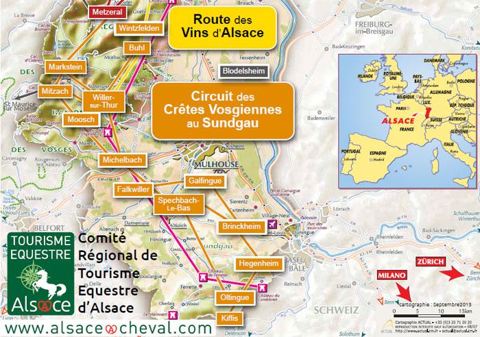 Préférence Circuit du Sundgau aux Crêtes Vosgiennes   CRTE Alsace - Comité  QA91
