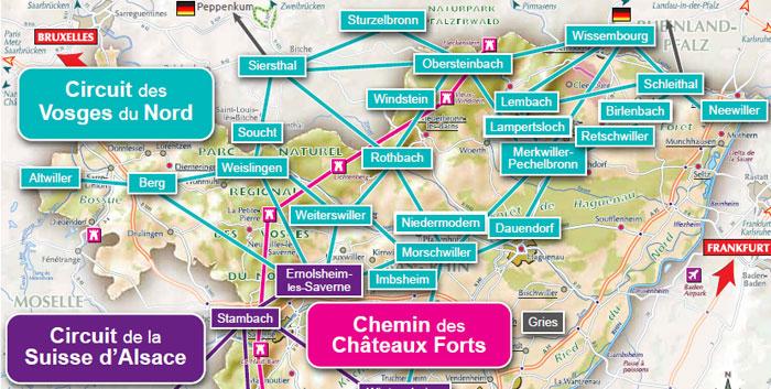 Info carte vosges tourisme voyages cartes - Office de tourisme de l ouest des vosges ...