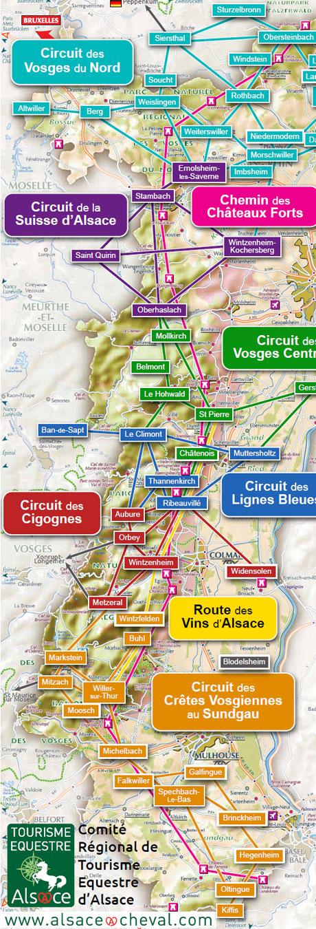Exceptionnel Chemin des Châteaux Forts d'Alsace   CRTE Alsace - Comité Régional  NI31