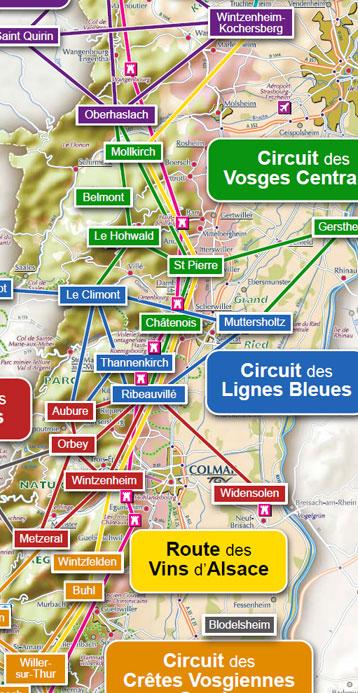 Super Route équestre des Vins d'Alsace   CRTE Alsace - Comité Régional  RH37
